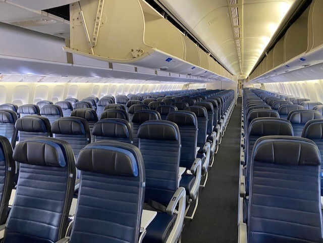 United Jet Interior