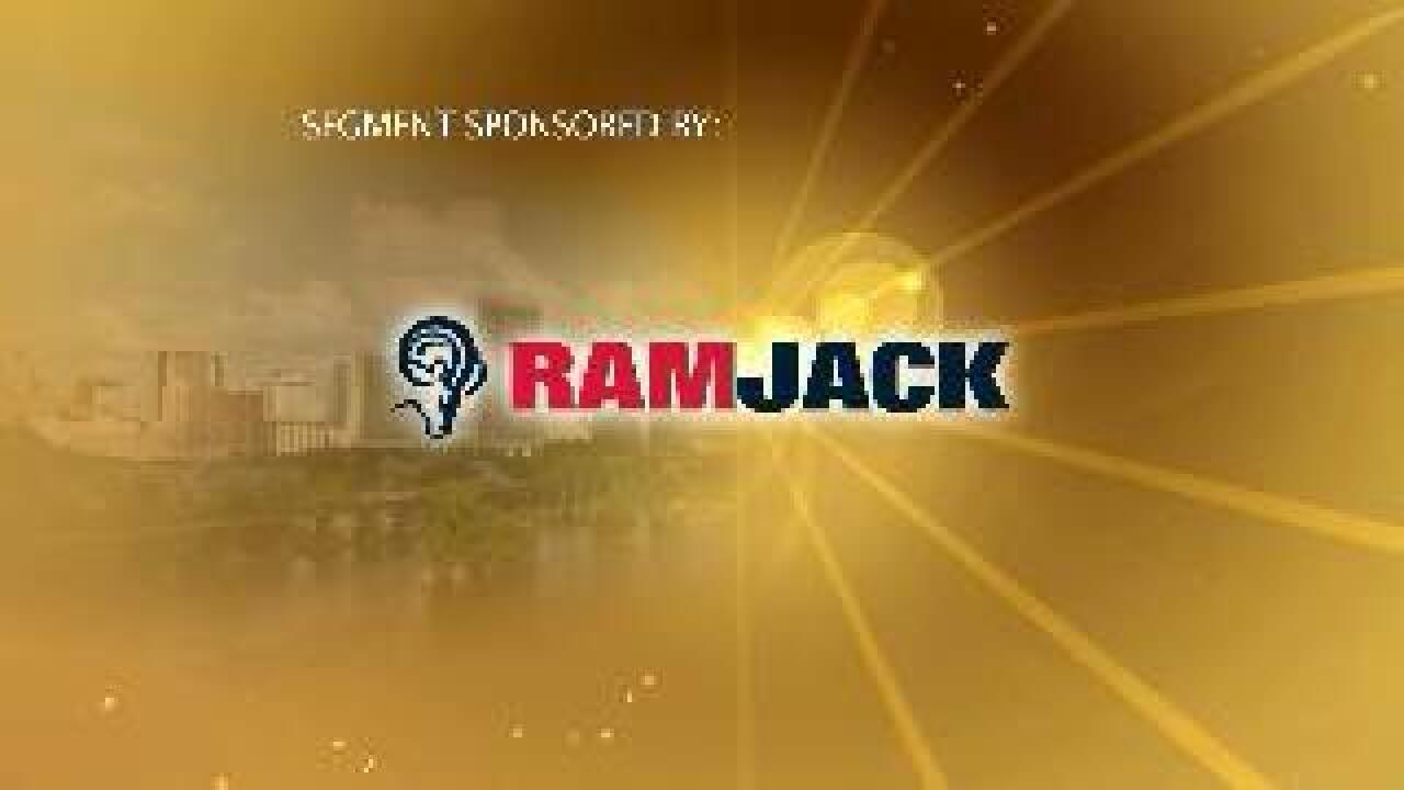Ram Jack helps settling home foundation issues