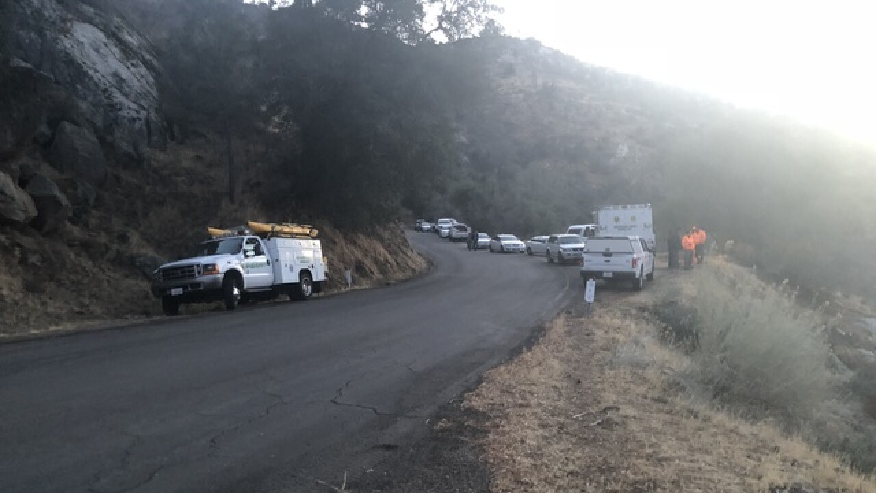 Adult female body found along the Kern River