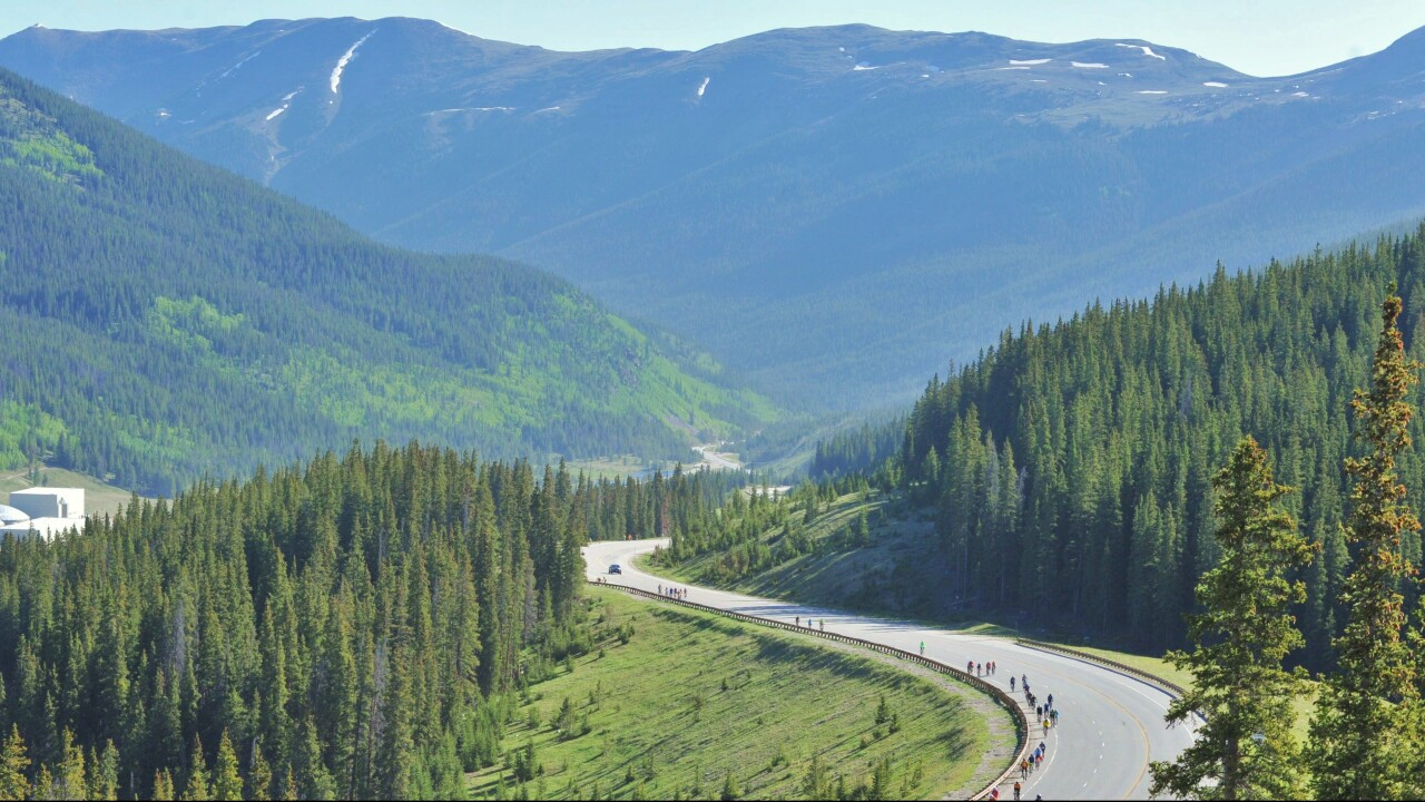 Cyclists invited to bike 450 miles in the Rocky Mountains