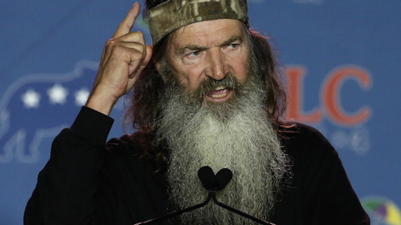 Duck Dynasty's Phil Robertson: Get me in the White House