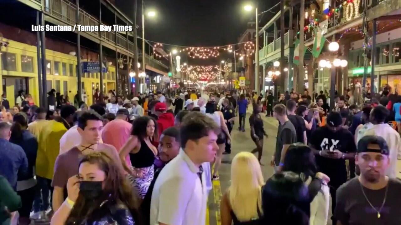 Tampa COVID violations crackdown