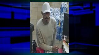 Suspected convenience store robber sought by police
