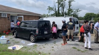 ICE attempted to bring a Tennessee man into custody. HIs neighbors formed a human chain