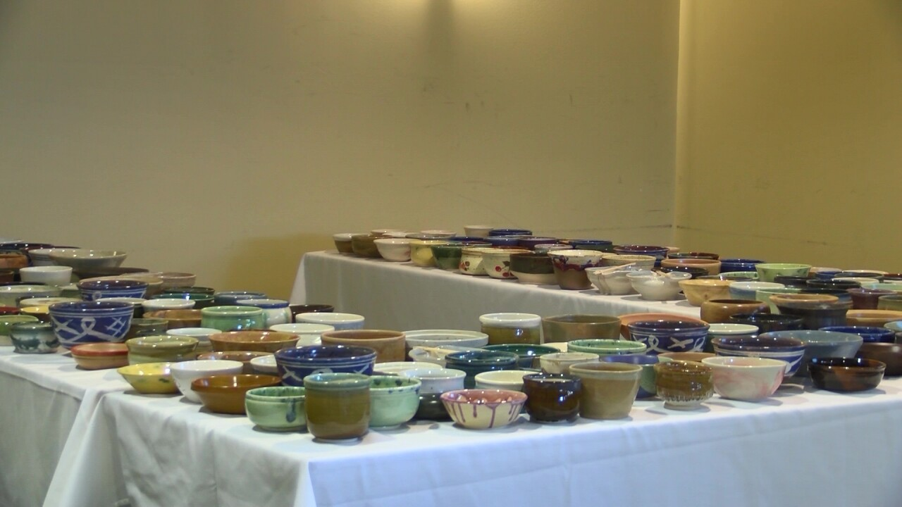 """YWCA hosts annual """"Empty Bowls"""" fundraiser to benefit Mercy Home"""