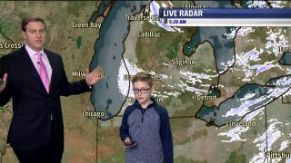 Congrats to January Weather Kid, Noah