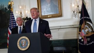 Trump condemns 'racist hate' and white supremacy but does not acknowledge his own rhetoric