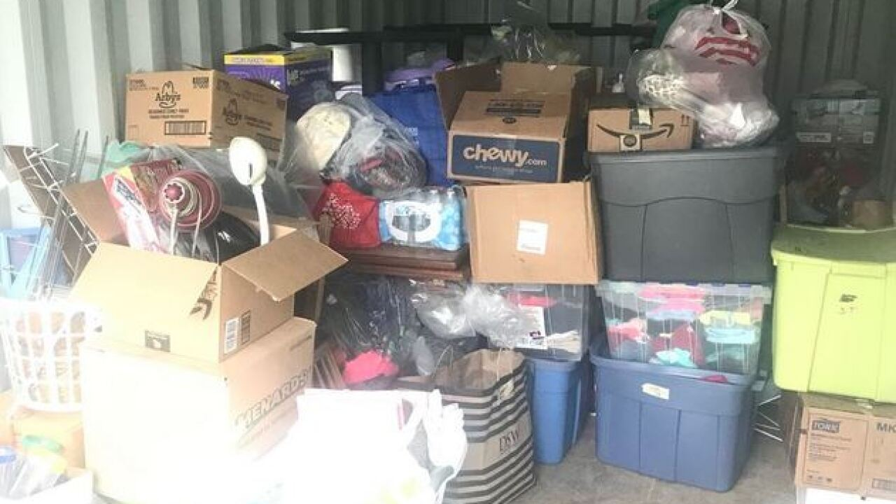 Donations ready to go to former Yale Park Apartments tenants