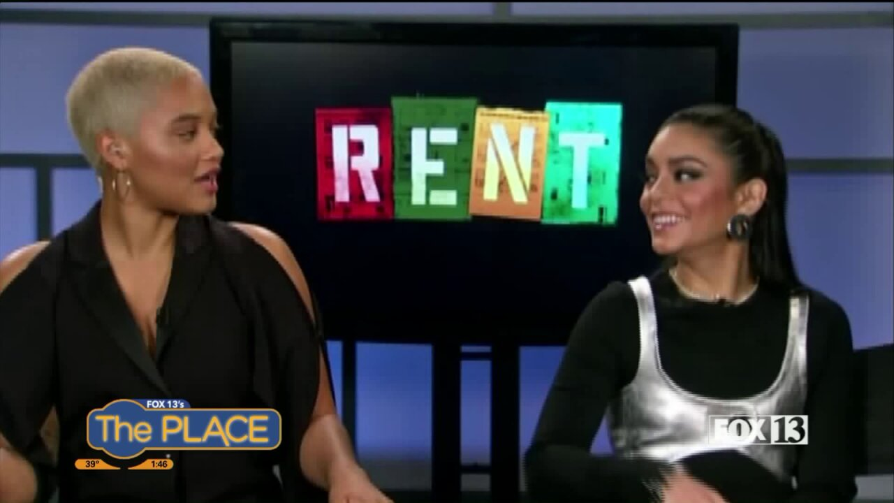 Vanessa Hudgens and Kiersey Clemons Talk about Utah, ahead of their Live Production of 'Rent' onFox
