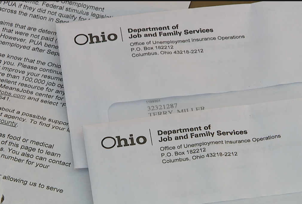 The notices were part of more than 2.5 million letters sent by ODJFS