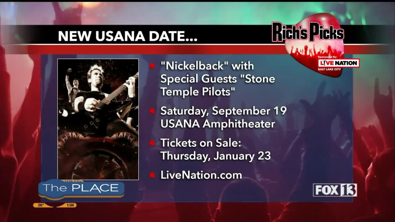 Rich's Picks: A new show is added to the summer lineup at USANA