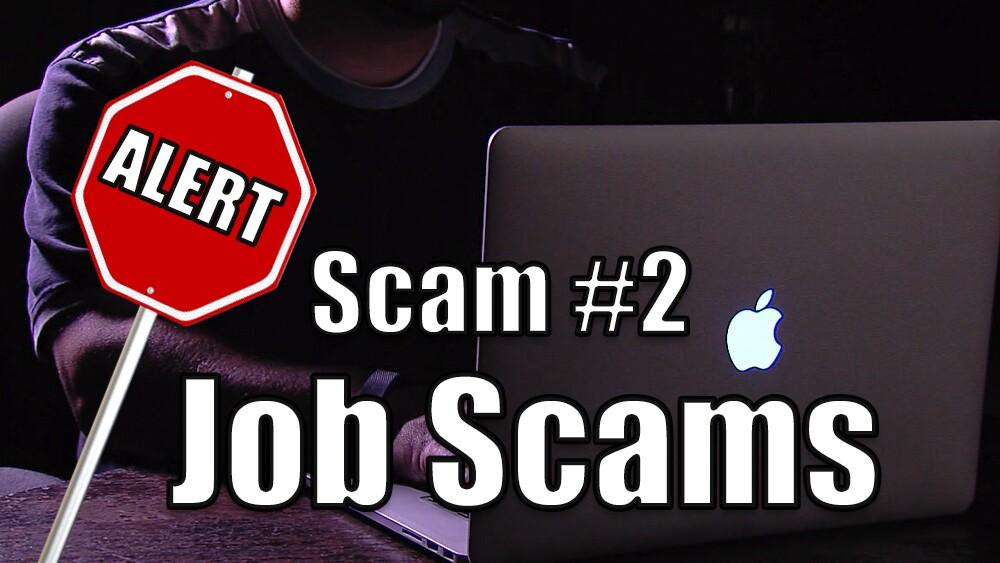 2. Job scams