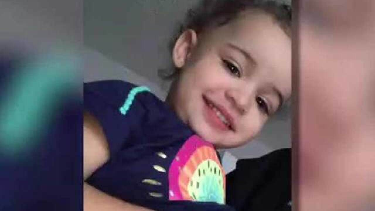 Police: 2-year-old Texas girl dies, was beaten and burned