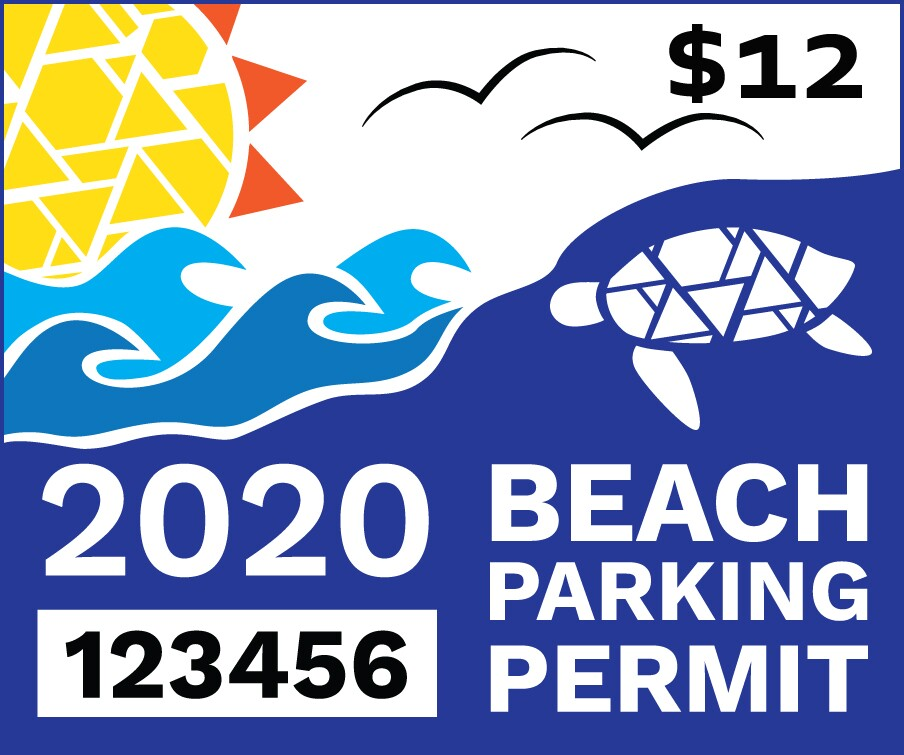 The Beach Is Calling; 2020 Beach Parking Permits Available