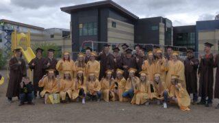 "High school seniors in Helena return to their elementary schools for ""Grad Walks"""
