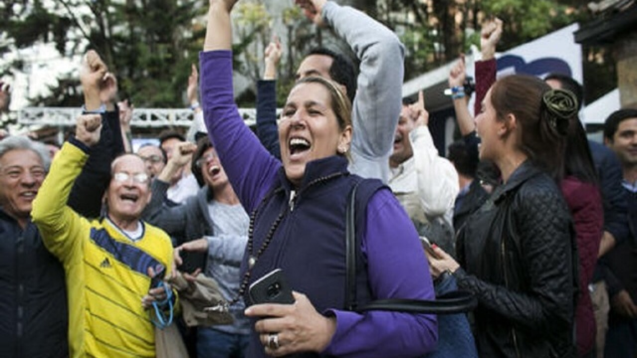 Colombia's pushes ahead on peace after shock defeat