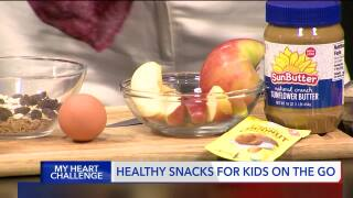 Dietitian offers healthy snack tips for kids on thego