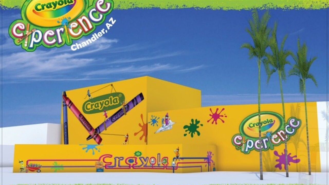 Crayola Experience to open in Chandler in 2019