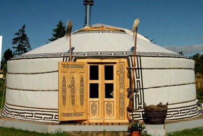 Yurt at the Inn at Cedar Falls