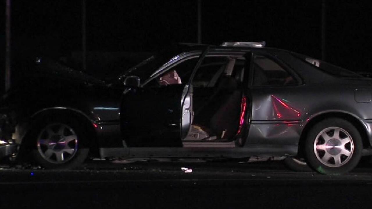 Wrong-way driver dies after slamming into car
