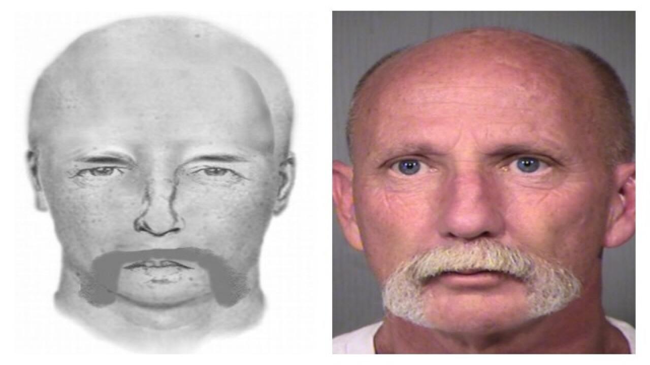 Man arrested for Glendale sex assault Sunday