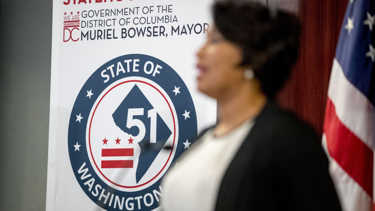 House adopts bill to make Washington DC the 51st state; Senate GOP opposes