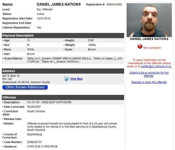 PHOTOS: The many mugshots of Daniel Nations, latest 'person of interest' in Delphi murders