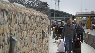 Number of border crossers drops amid Mexican crackdown