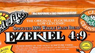 Ezekiel Bread Is A Low-carb Alternative To Regular Bread