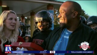 Utah football coach who often covers costs for disadvantaged kids surprised by Fox 13 DreamTeam