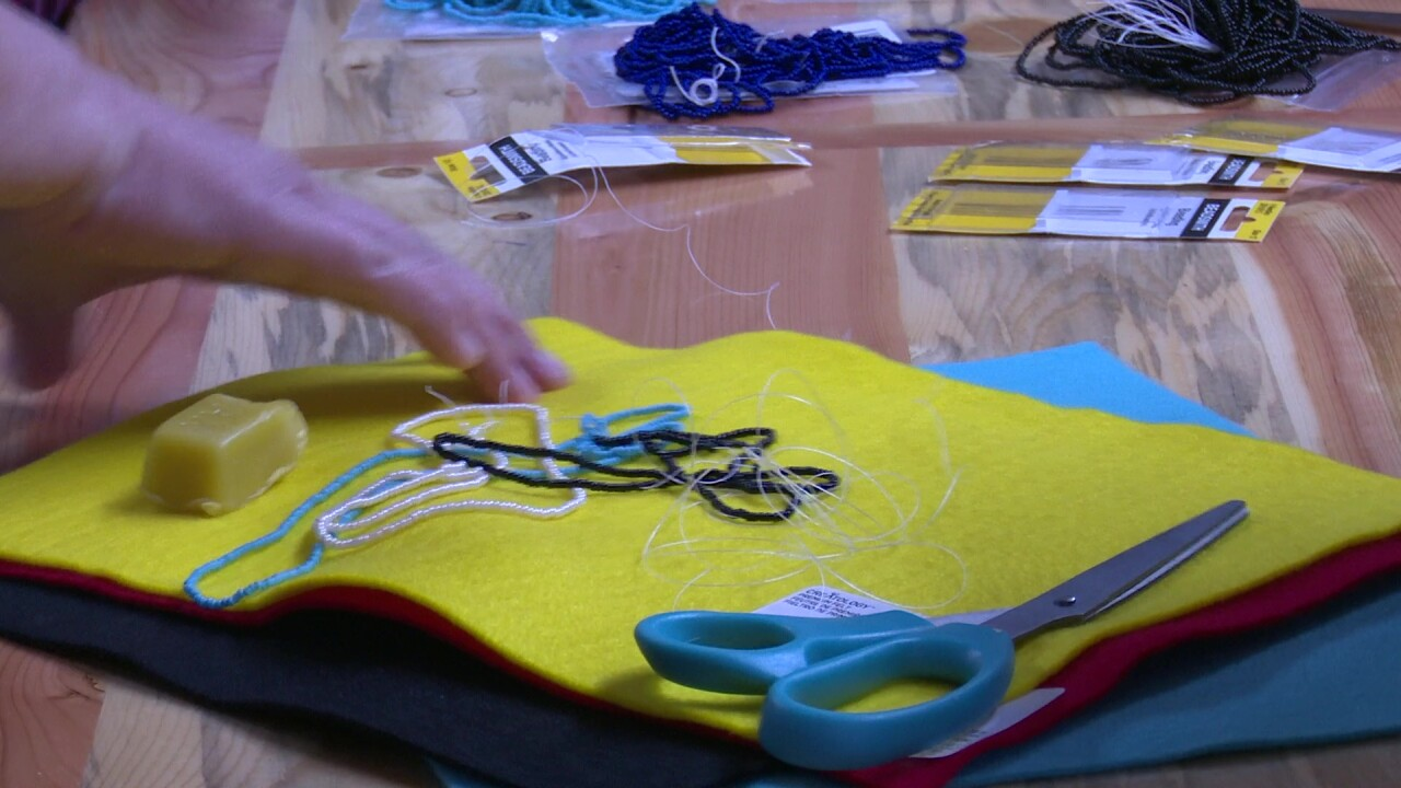 Alliance For Youth hosts beading class