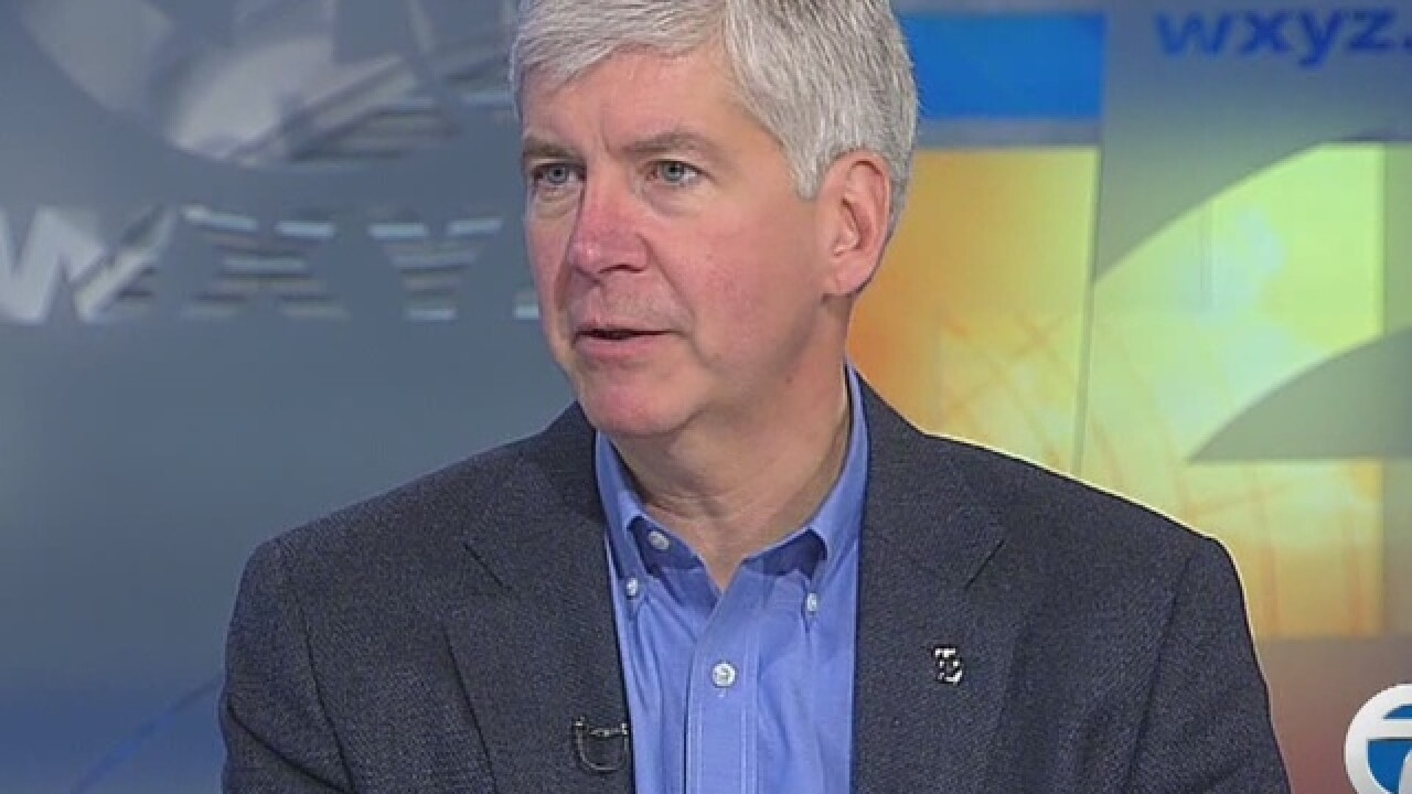 LIVE: Gov. Snyder to address DPS legislation