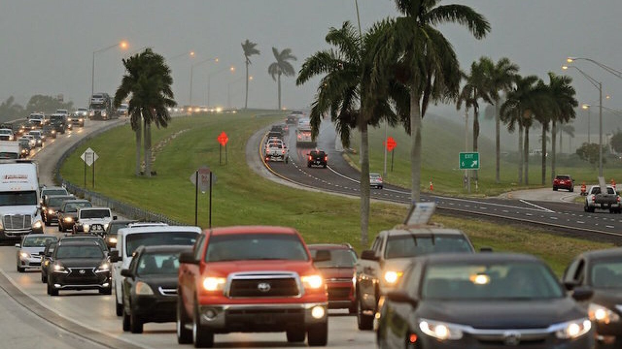 Florida traffic jammed as millions flee Hurricane Irma