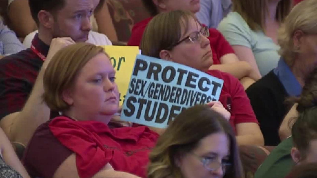 CCSD expected to vote on gender diversity policy