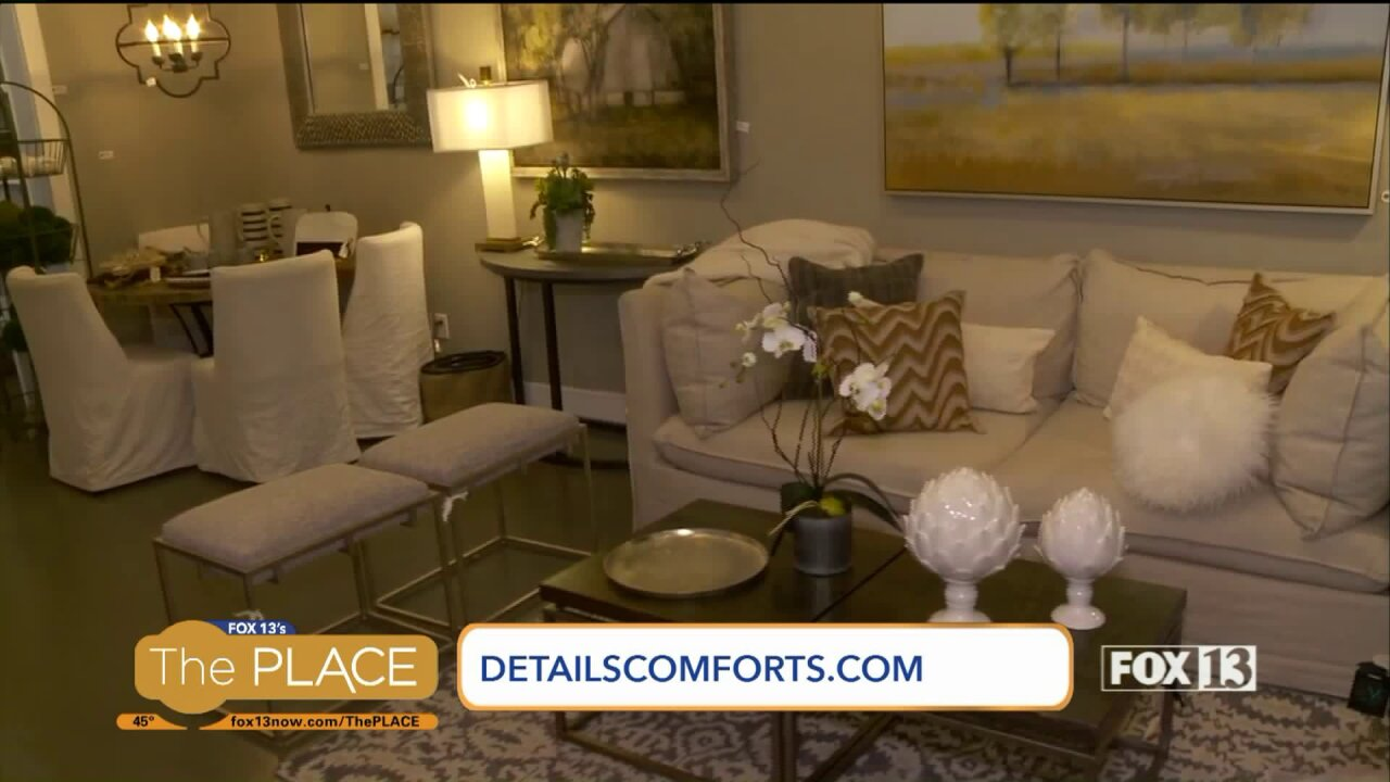 Make your home distinctive with Details Comforts for theHome
