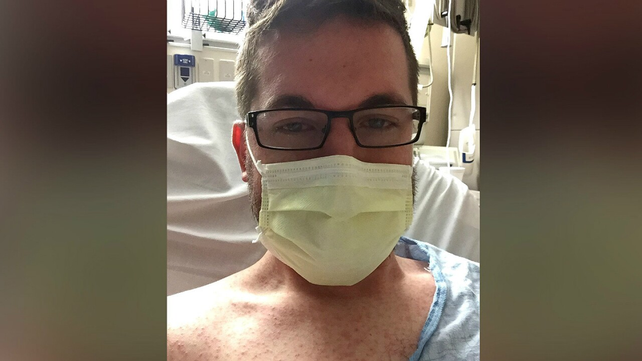 Anti-vaxers' adult son got measles; now he has a message for the world