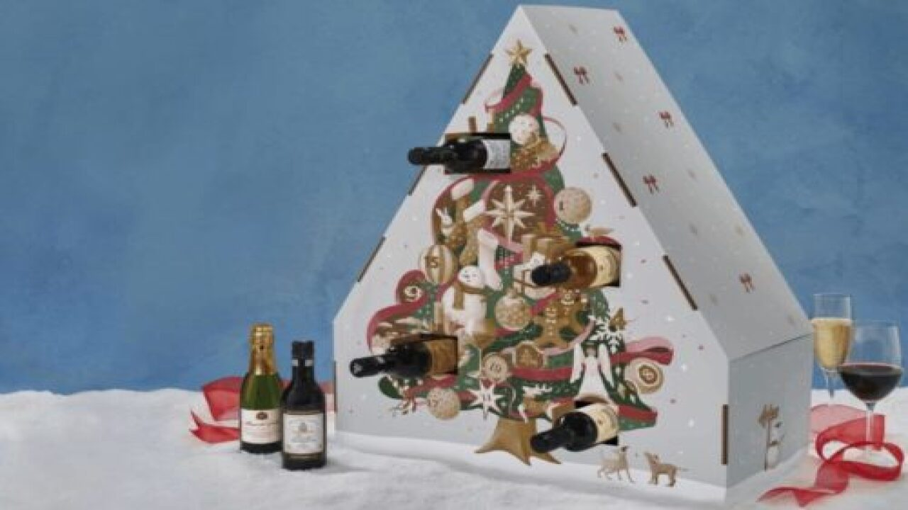 Macy's Is Selling A Wine Advent Calendar Packed With 24 Quarter Bottles
