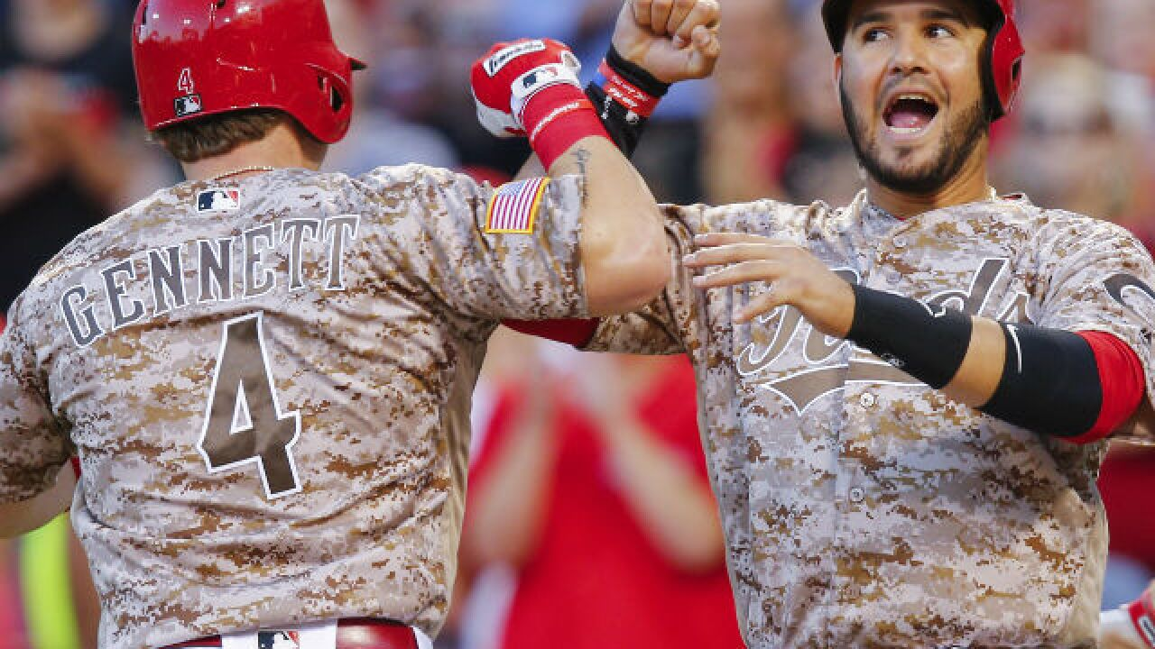 Reds land Eugenio Suarez, Scooter Gennett, Joey Votto on All-Star team
