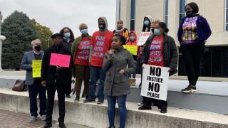 MORE2 protest for DOJ investigation on KCKPD