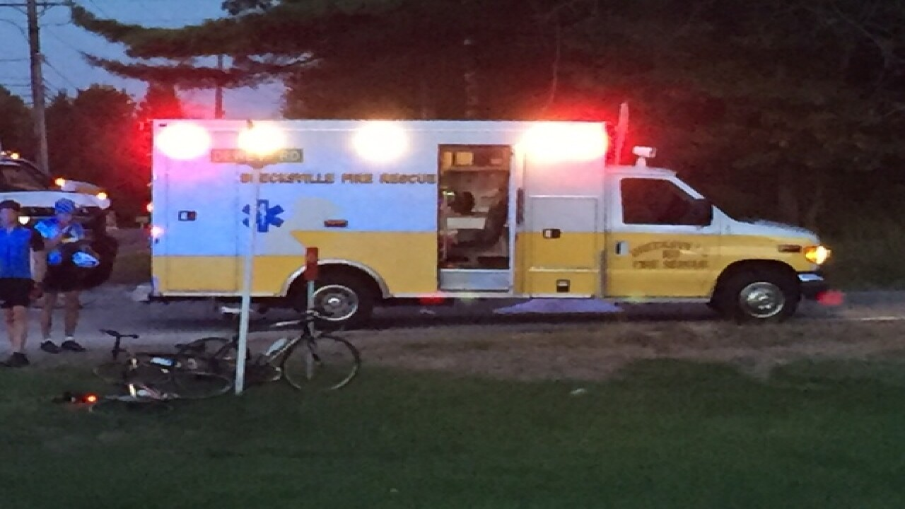 5 bicyclists hit by truck, 1 killed