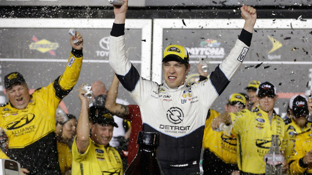 Brad Keselowski finally earns first Daytona victory