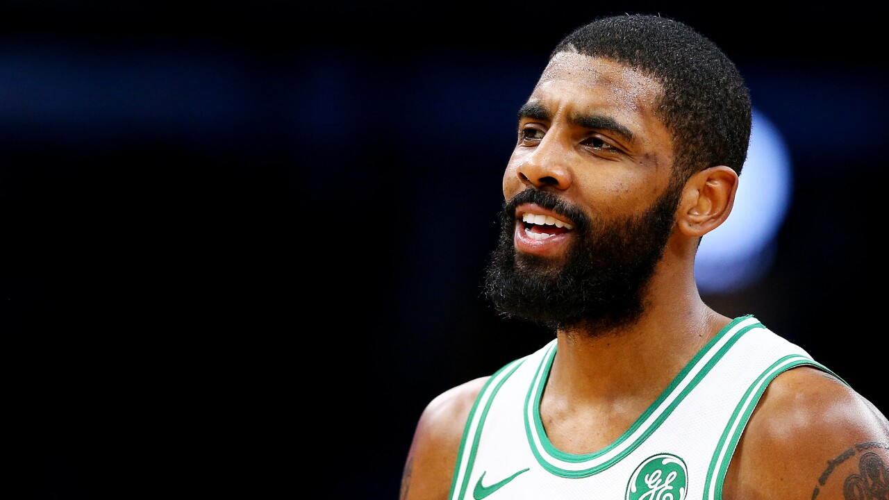 Indiana Pacers v Boston Celtics. CLEVELAND — Celtics guard Kyrie Irving  said he called LeBron James ... 0b641225f
