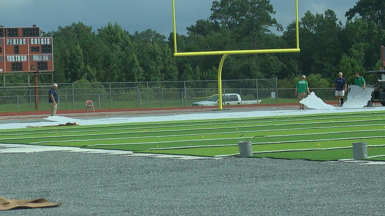 Chiles Turf Field Nears Completion