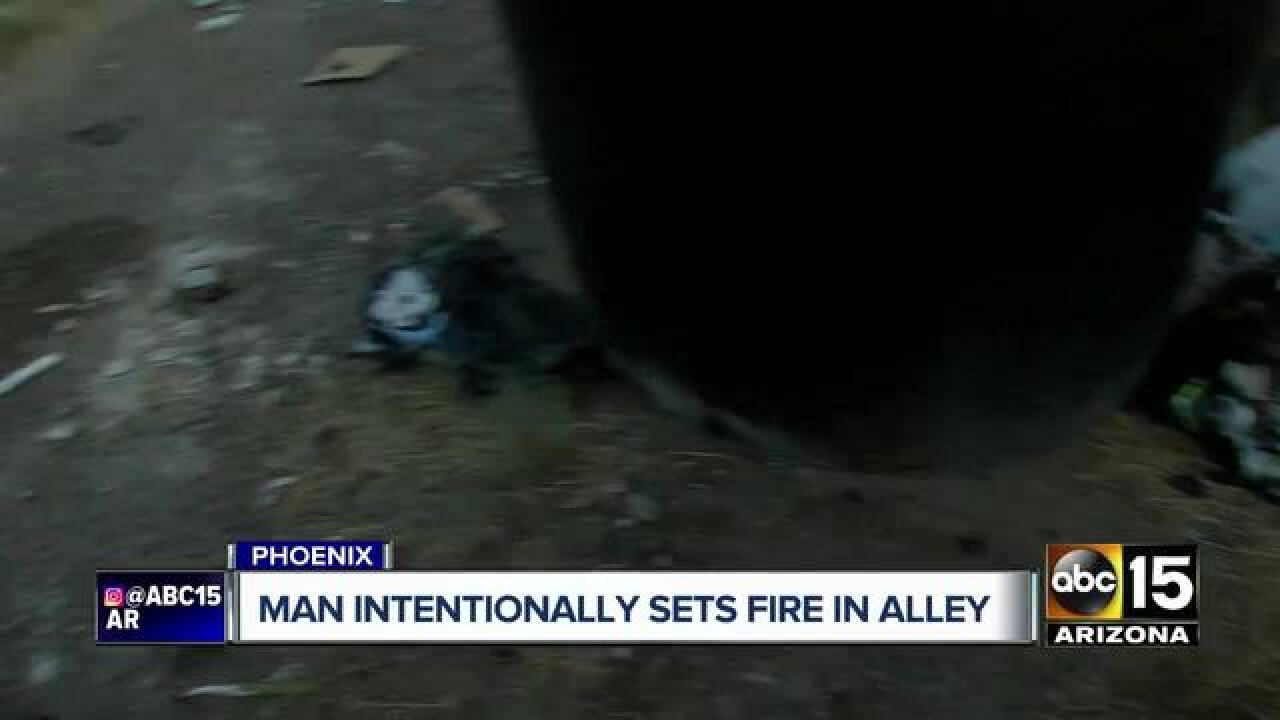 Possible arson being investigated in Maryvale