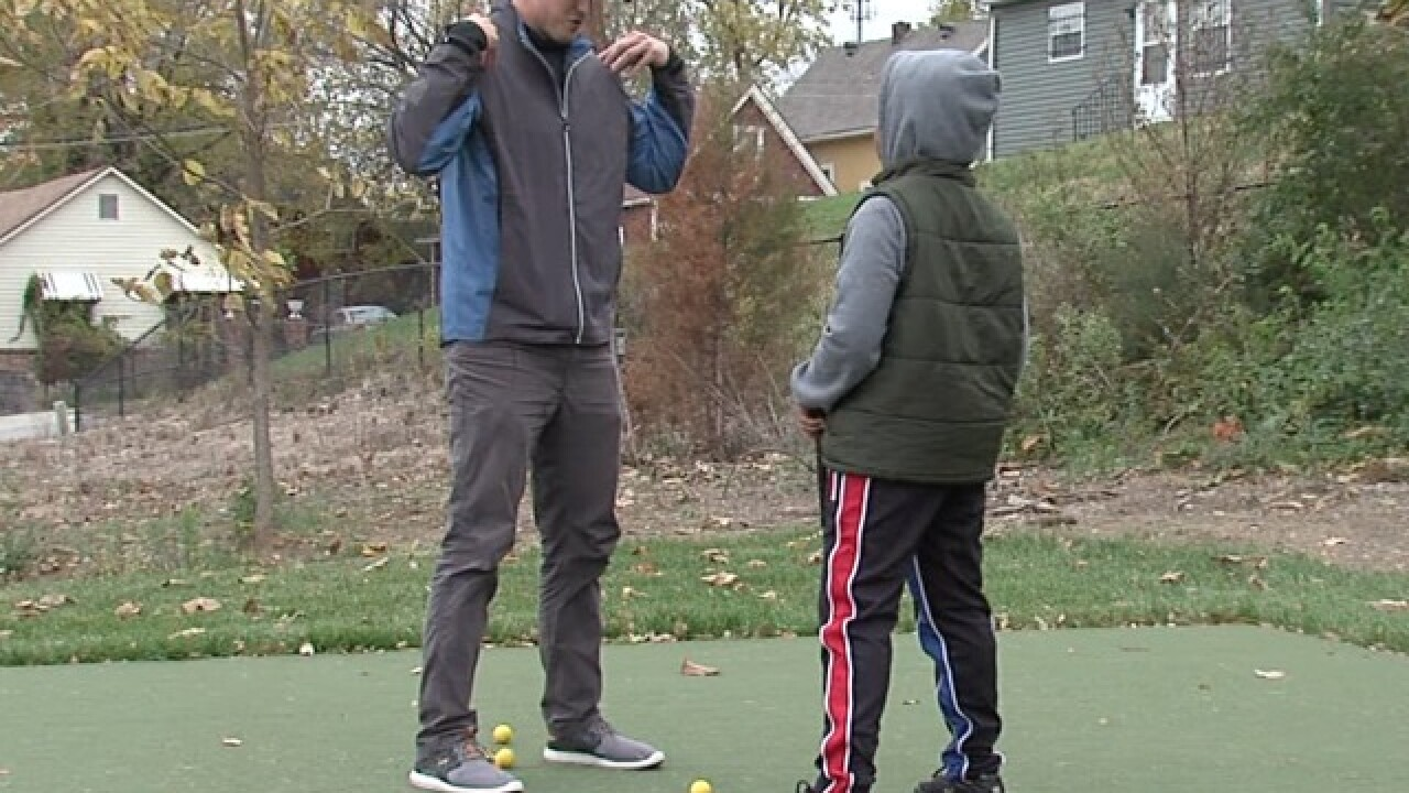 Man finishes golf course in east KC neighborhood