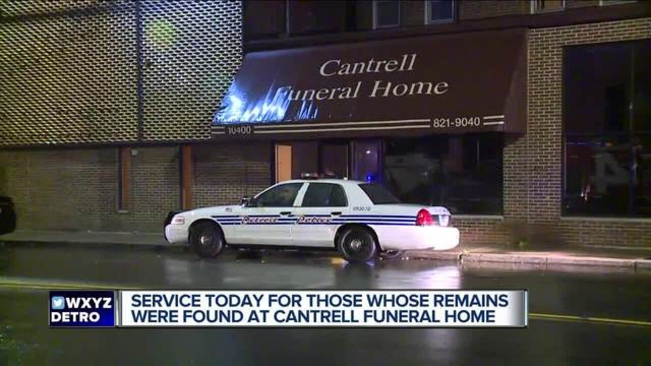 Service to be held for cremated remains found