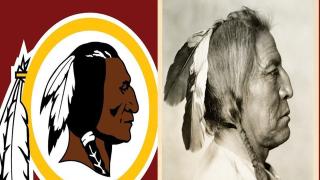 Redskins Blackfeet connection