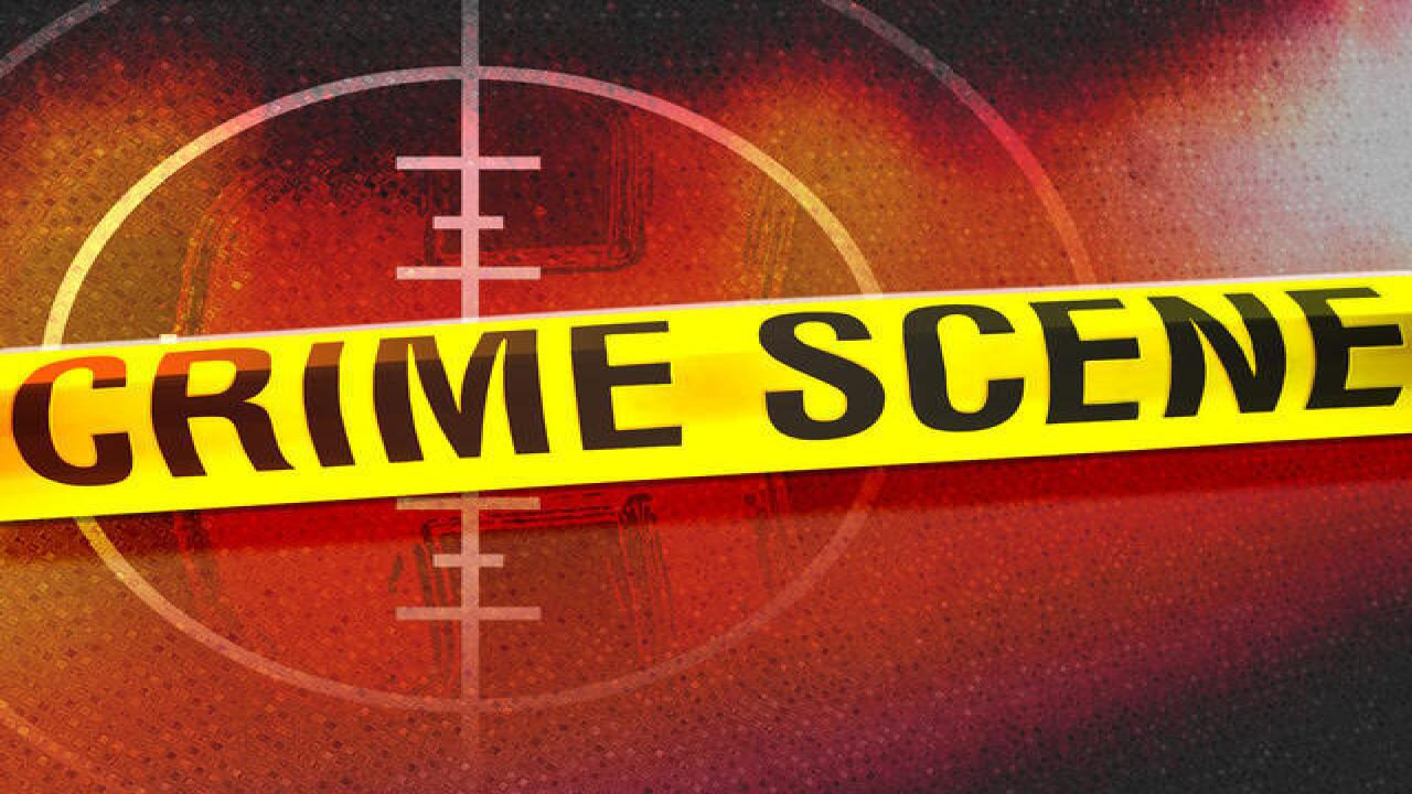 California City Police investigating a dead body at a park