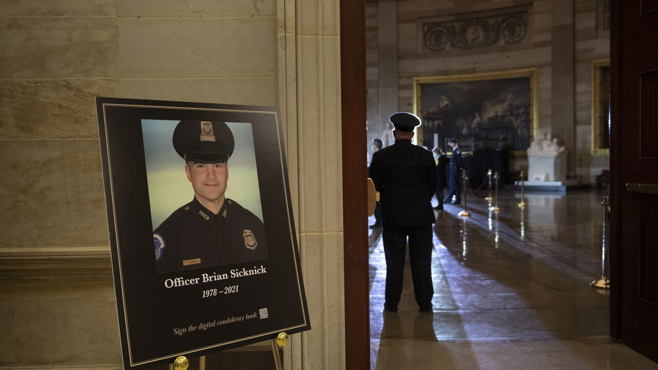 Capitol Breach Officer's Death