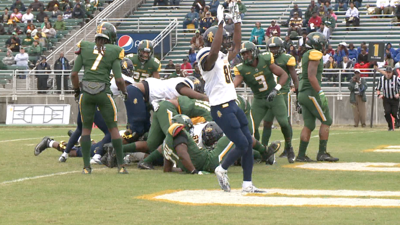 Norfolk State falls to No. 9 North Carolina A&T 35-7 in homefinale